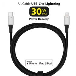 AluCable USB-C to Lightning ケーブル